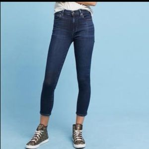 COH rocket crop high rise skinny size 32